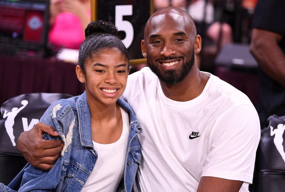 Kobe and Gianna, 13, were tragically killed in the crash