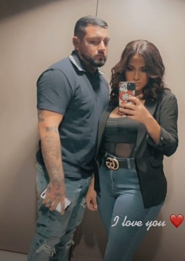 Briana and Javi announced their engagement back in May