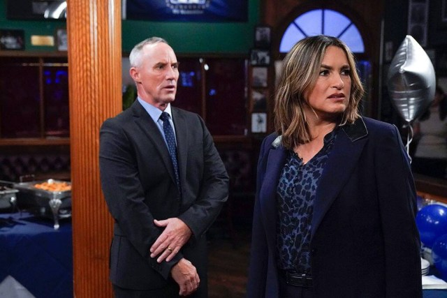 Ed Tucker and Olivia Benson were in a romantic relationship in the show