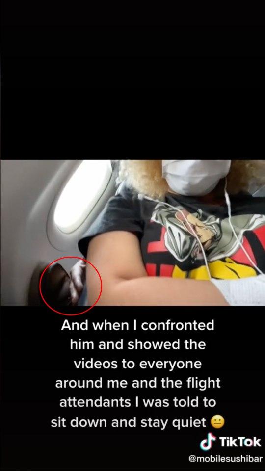 A man was caught on tape groping a teen aboard a Spirit flight