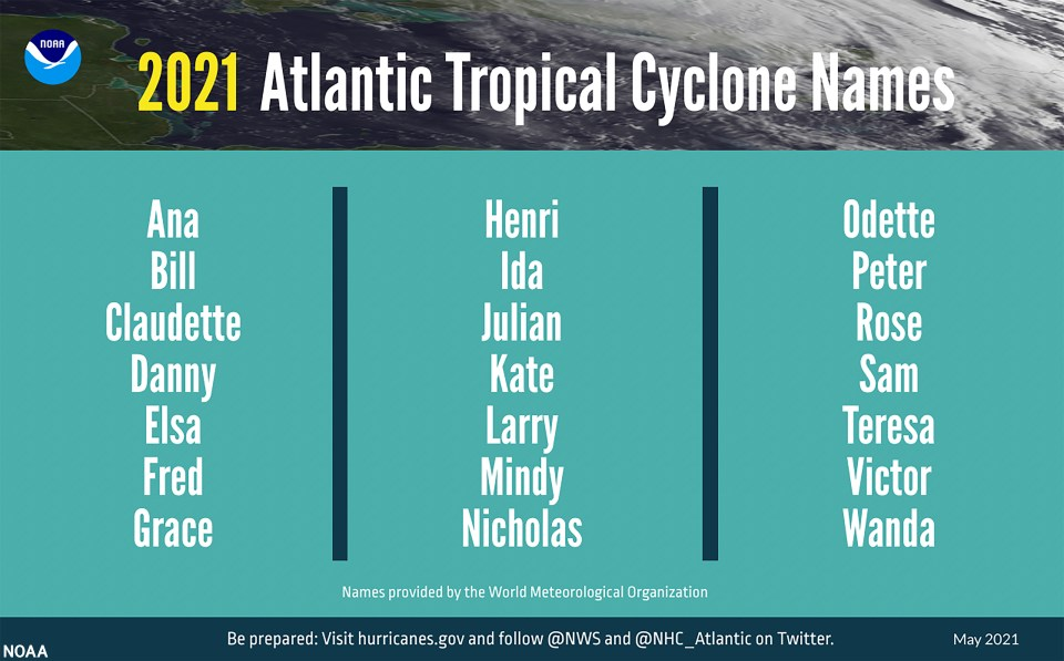 If the storm materializes into an official cyclone it will be called Claudette