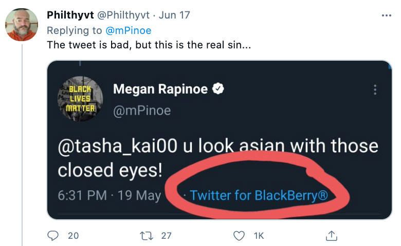 Many made fun of her tweet that's over a decade old