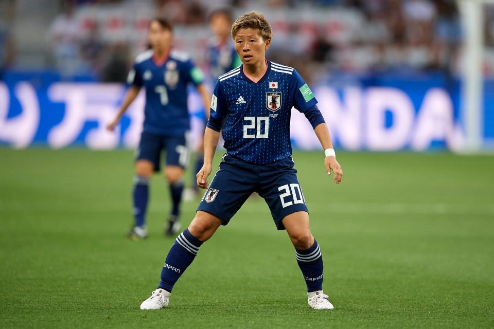 Washington Spirit forward Yokoyama said they felt more comfortable with their gender identity