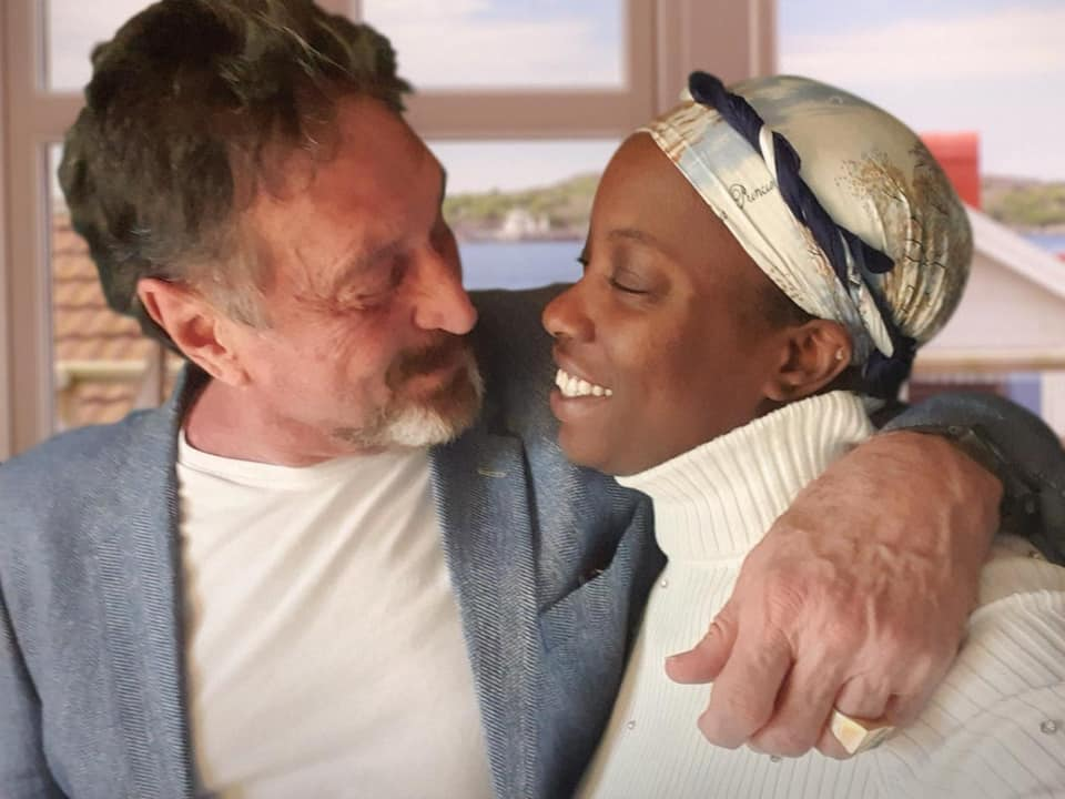 McAfee's family expressed shock that he would kill himself