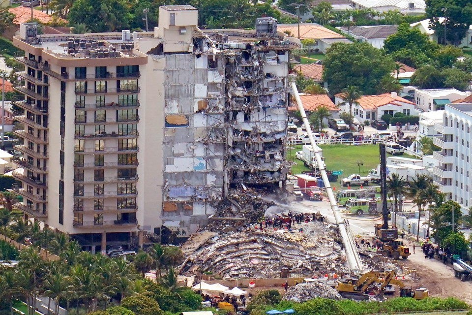 """An engineering firm's 2018 report found """"major structural damage"""" at the Champlain Towers South that required substantial repair"""