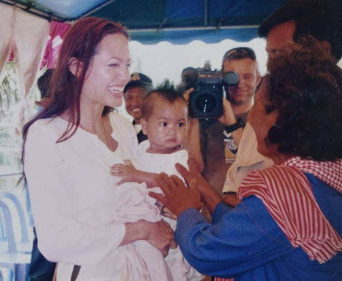 Angelina Jolie has always maintained Maddox was an orphan