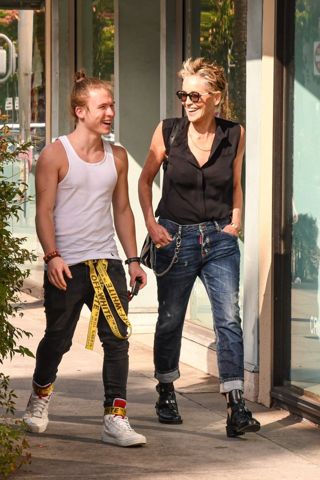 Sharon and Roan were shopping for sunglasses in Beverly Hills