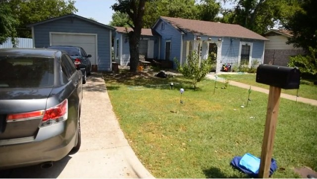 The shooting occurred at a backyard party in Texas
