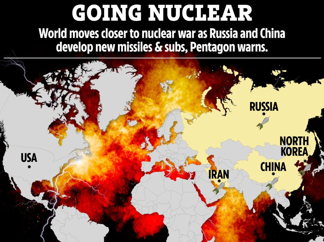 The world is moving closer to nuclear war