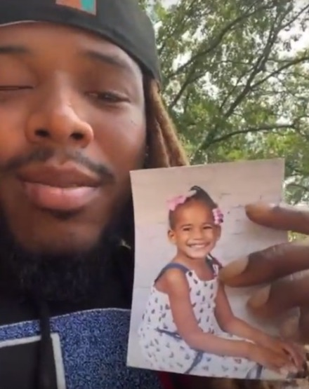 Fetty got emotional during a recent live video chat with fans about losing his daughter
