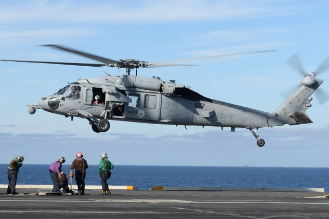 A US Navy helicopter crashed into the Pacific Ocean Tuesday afternoon off San Diego
