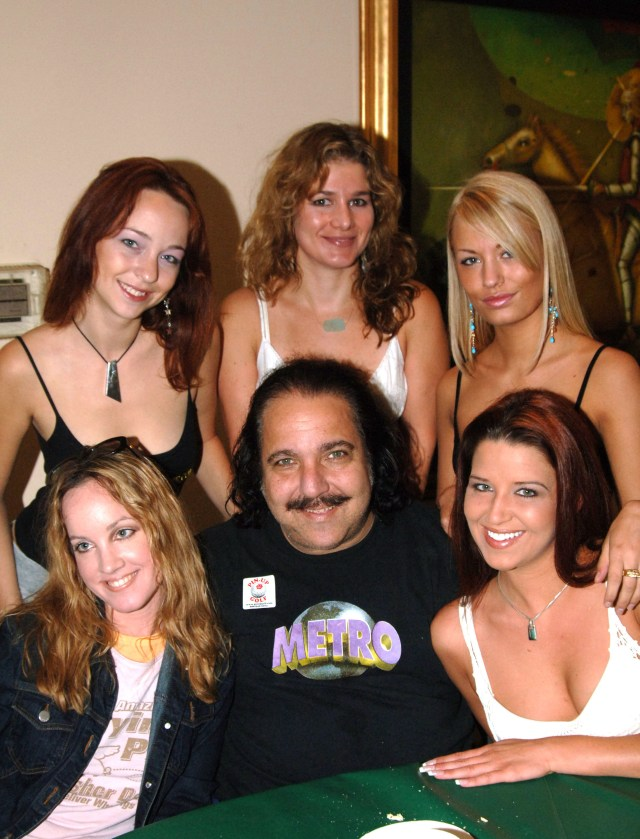 Ron, real name Ronald Jeremy Hyatt, has appeared in more than 2,000 porn films