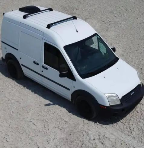The couple's van has since been recovered