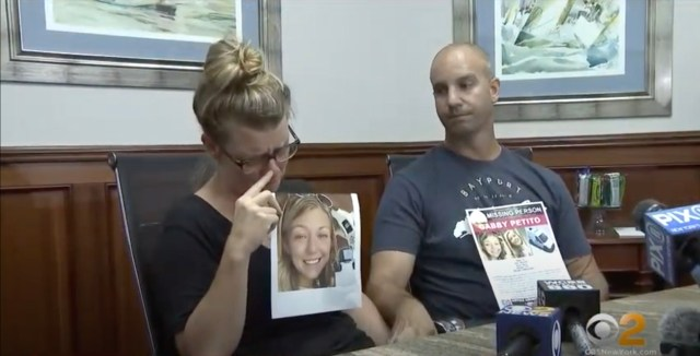 Petito's parents are hoping to find their daughter