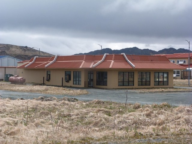 Adak was originally set as an outpost for Army and Navy bases