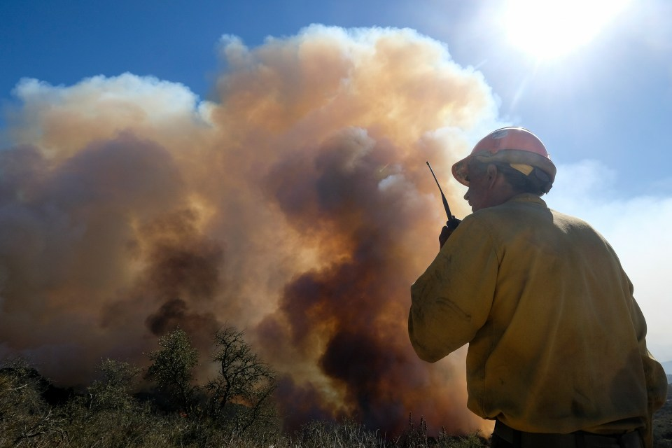 A federal incident management team was to take operational control of the firefighting Wednesday evening.