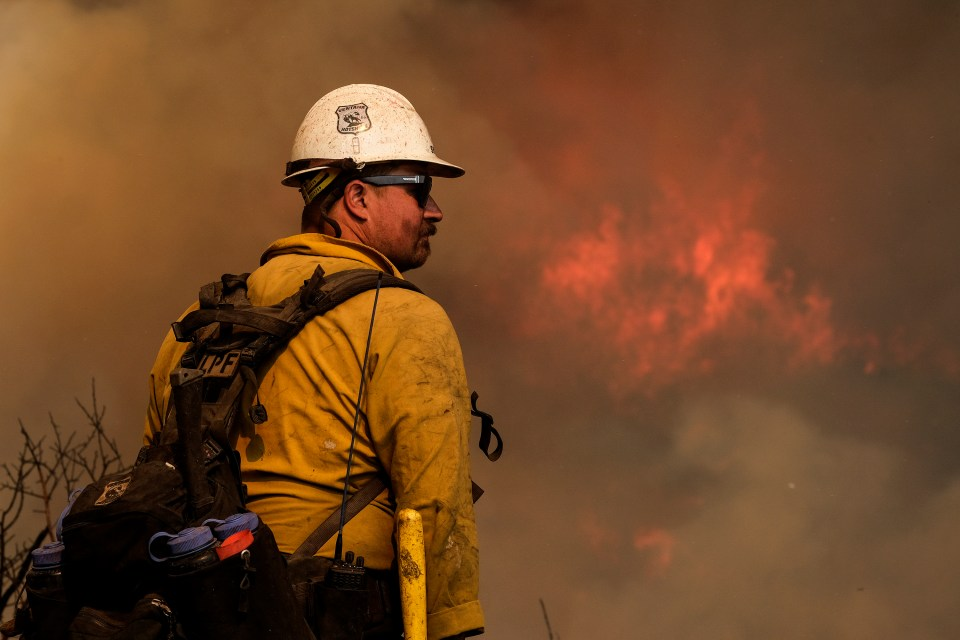 Alisal's wildfire had burned more than 15,000 acres by Wednesday afternoon
