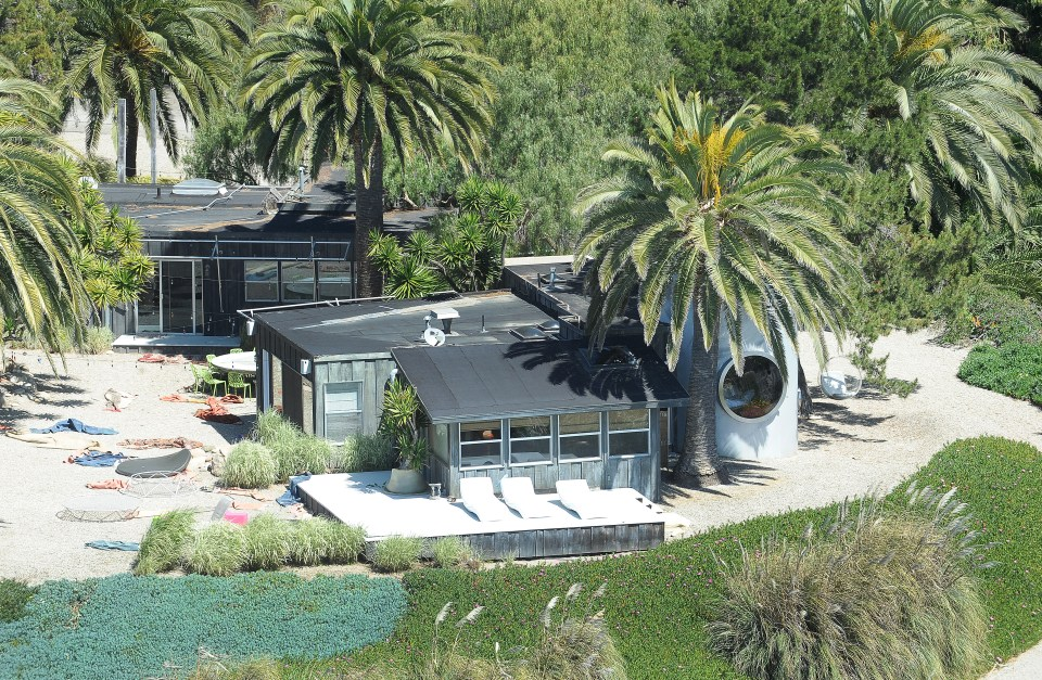 Pitt is known to loan out the property to friends and family when they visit him in California