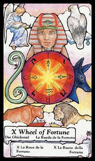 Betekenis Tarotkaart Het Rad van Fortuin