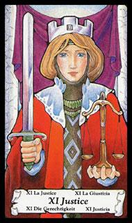 Betekenis Tarotkaart Gerechtigheid
