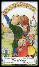 Betekenis Tarotkaart Bekers Tien