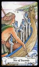 betekenis tarotkaart Zwaarden Zes