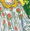 Granaatappels in het gewaad van de tarotkaart de keizerin