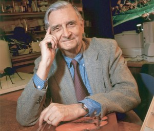 E. O. Wilson, 2003 (Courtesy of Jim Harrison, PLoS, Wikimedia Commons)