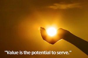 Value Equals Service