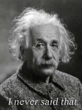Einstein-Never-Said-That