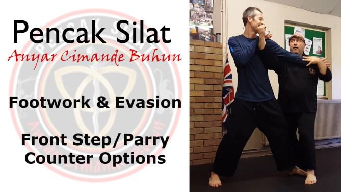 Pencak Silat Anyar Cimande Buhun A C B Basic Footwork With Entry & Trap/Attack