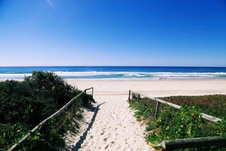 letzen Blick von Australien
