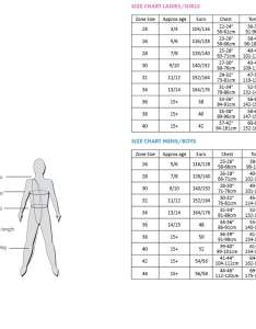 Leotard sizing guide also size the zone gymnastics rh
