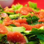 Kale, Grapefruit & Avocado Salad
