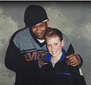 Usher with Jacob Plasker