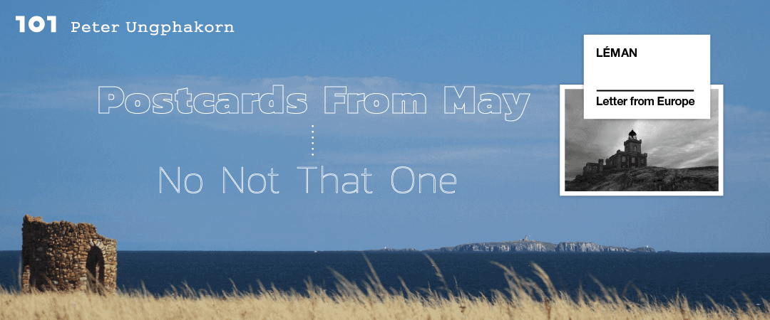 Postcards from May — no not that one