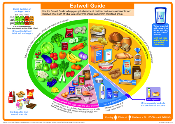 Eatwell Plate 2016 - the10principles