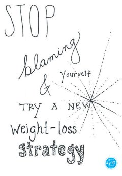 weight-loss strategy - blaming