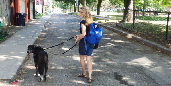 weight-loss strategy - walk in park