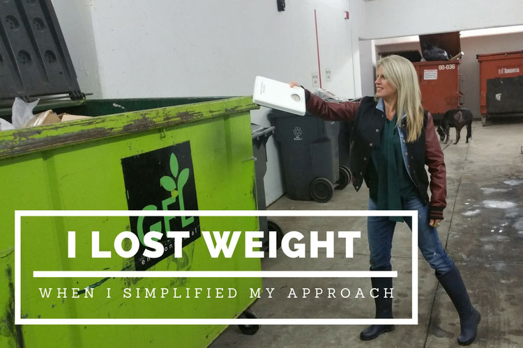 simplified my weight-loss approach - the10principles
