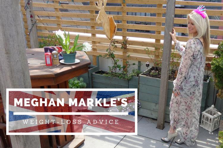 meghan markle's weight-loss advice