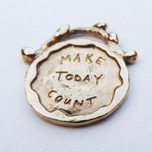 Make Today Count - Gold Necklace
