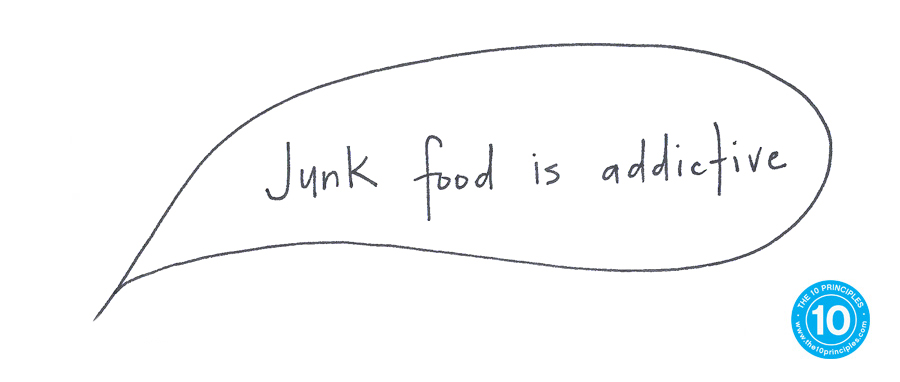 New Years Resolution - Junk food is addictive