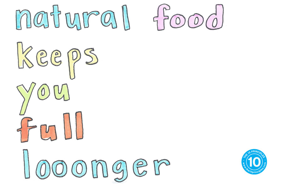 weight-loss snack - Natural food keeps you full looonger