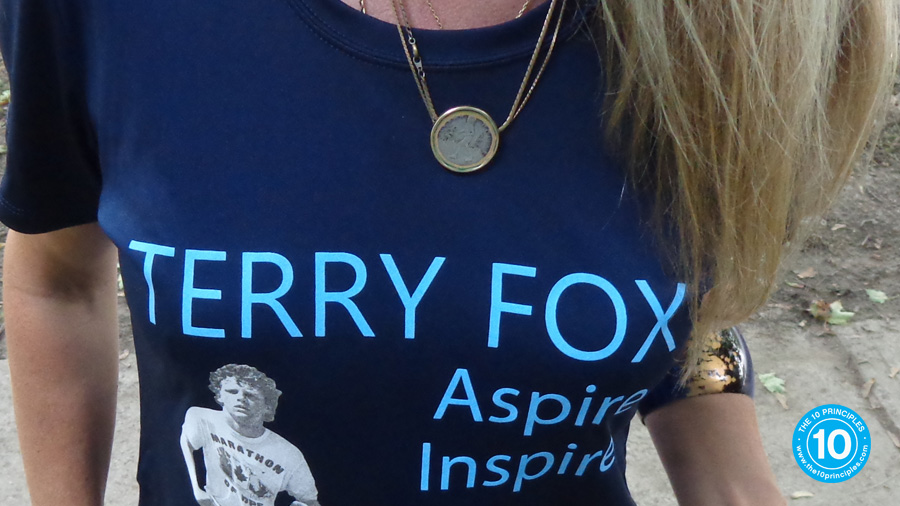 Is your exercise routine RIGID? - Terry Fox Necklace