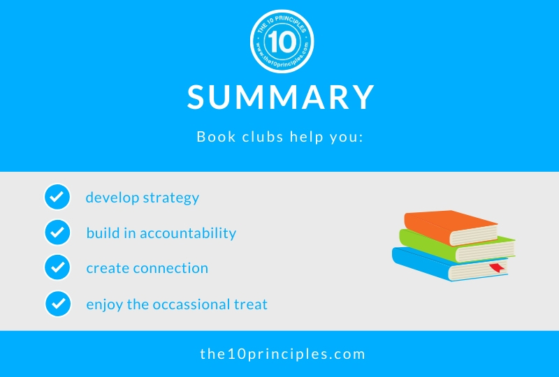 Book clubs help you lose weight - summary