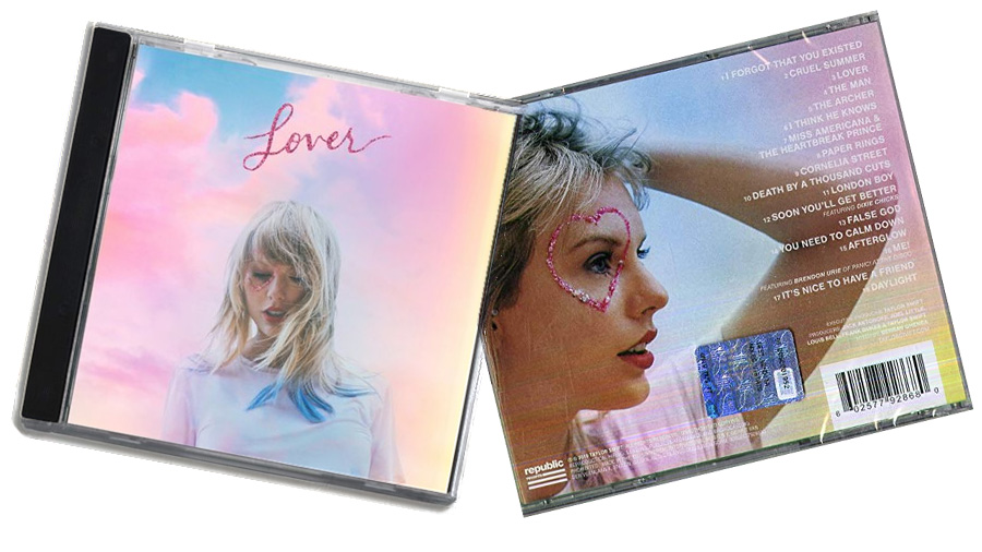 Taylor's latest album - Lover