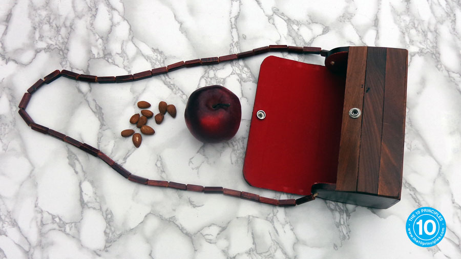 how do I stop over eating - my wood-pecker purse