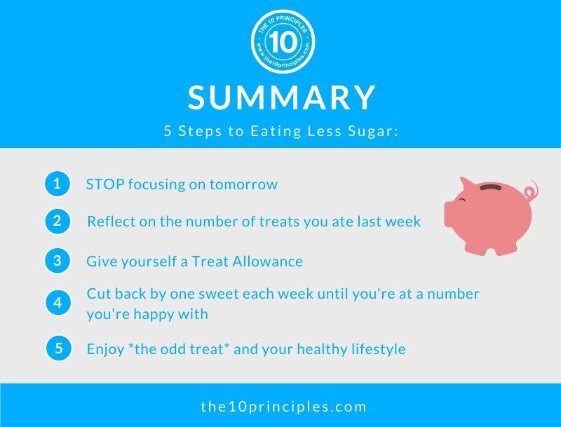 How do I eat less sugar? - summary