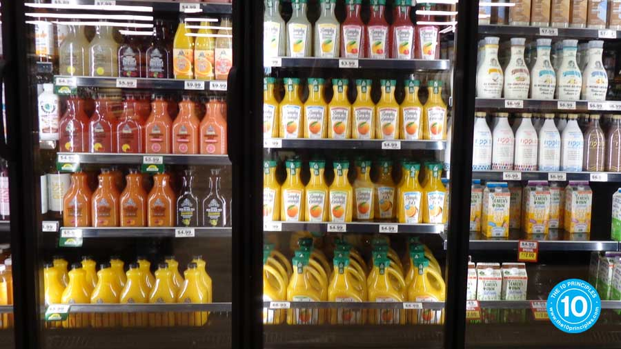 What orange juice brands are found at your grocery store?
